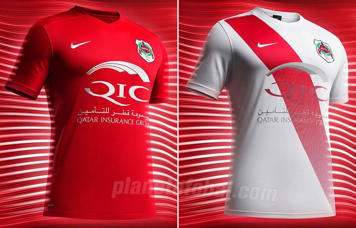 Camisetas del Al-Rayyan SC | Foto Web Oficial
