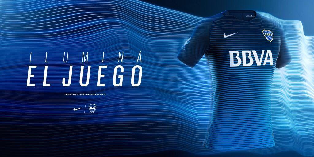 Nueva camiseta de Boca | Foto Nike