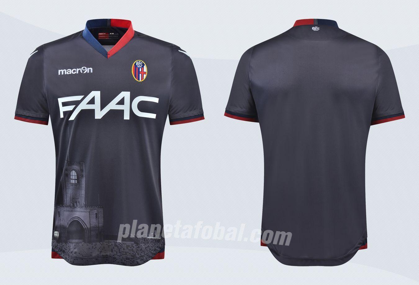 Nueva camiseta del Bologna | Imágenes Web Oficial