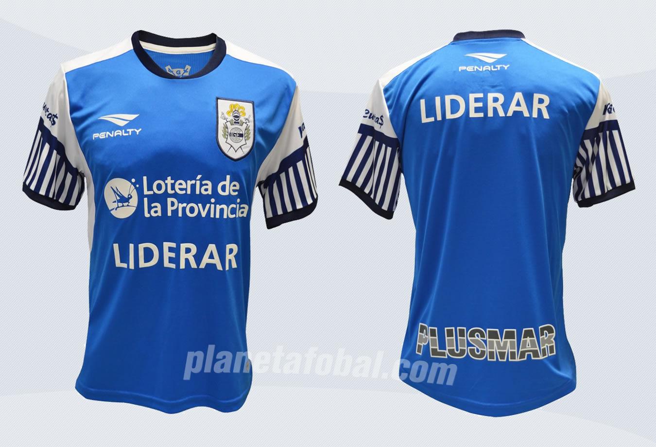 Nueva camiseta de Gimnasia | Imágenes Penalty