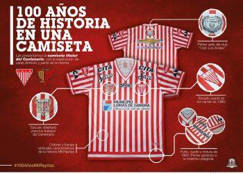 Camiseta especial de Los Andes | Foto Twitter Oficial