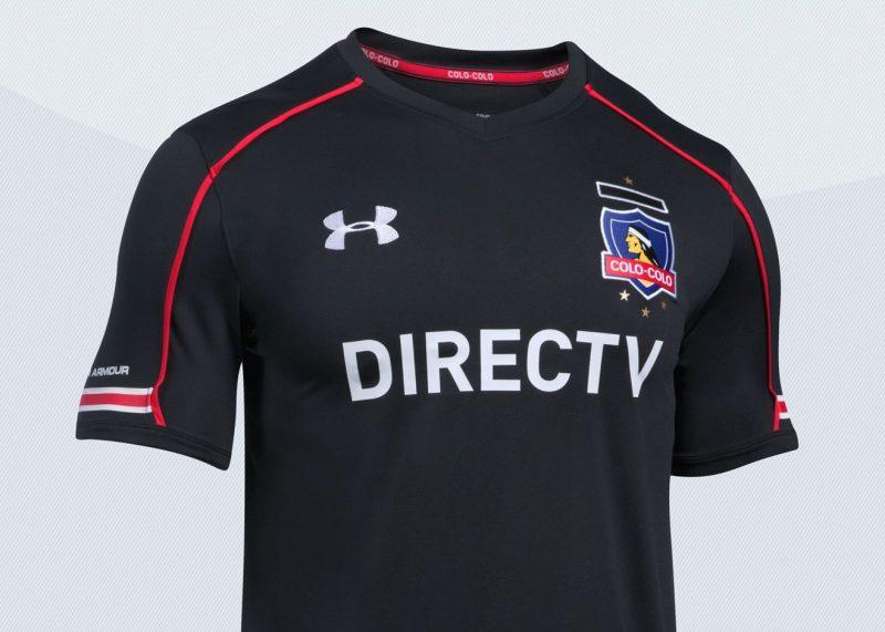 Nueva camiseta del Colo-Colo | Imagen Under Armour