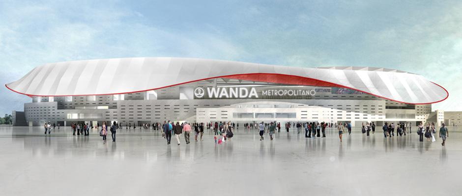 Así lucirá el Wanda Metropolitano | Foto Web Oficial