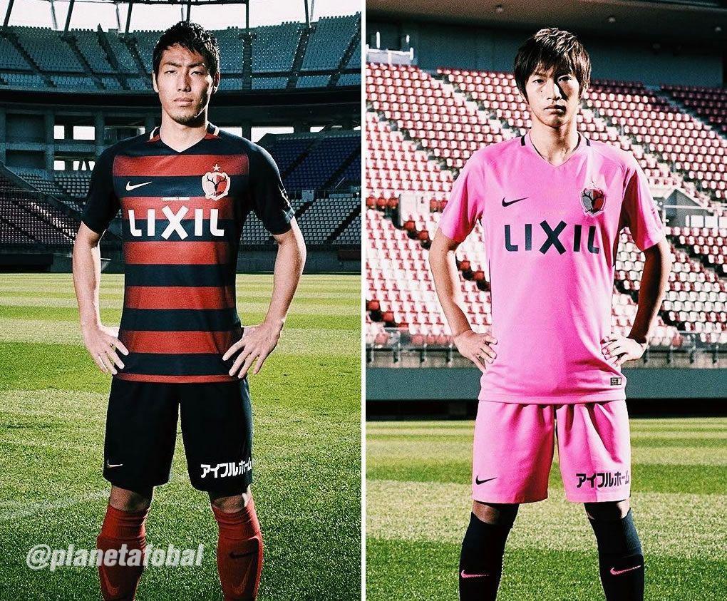 Nuevas camisetas Nike del Kashima Antlers para 2017 | Foto web oficial