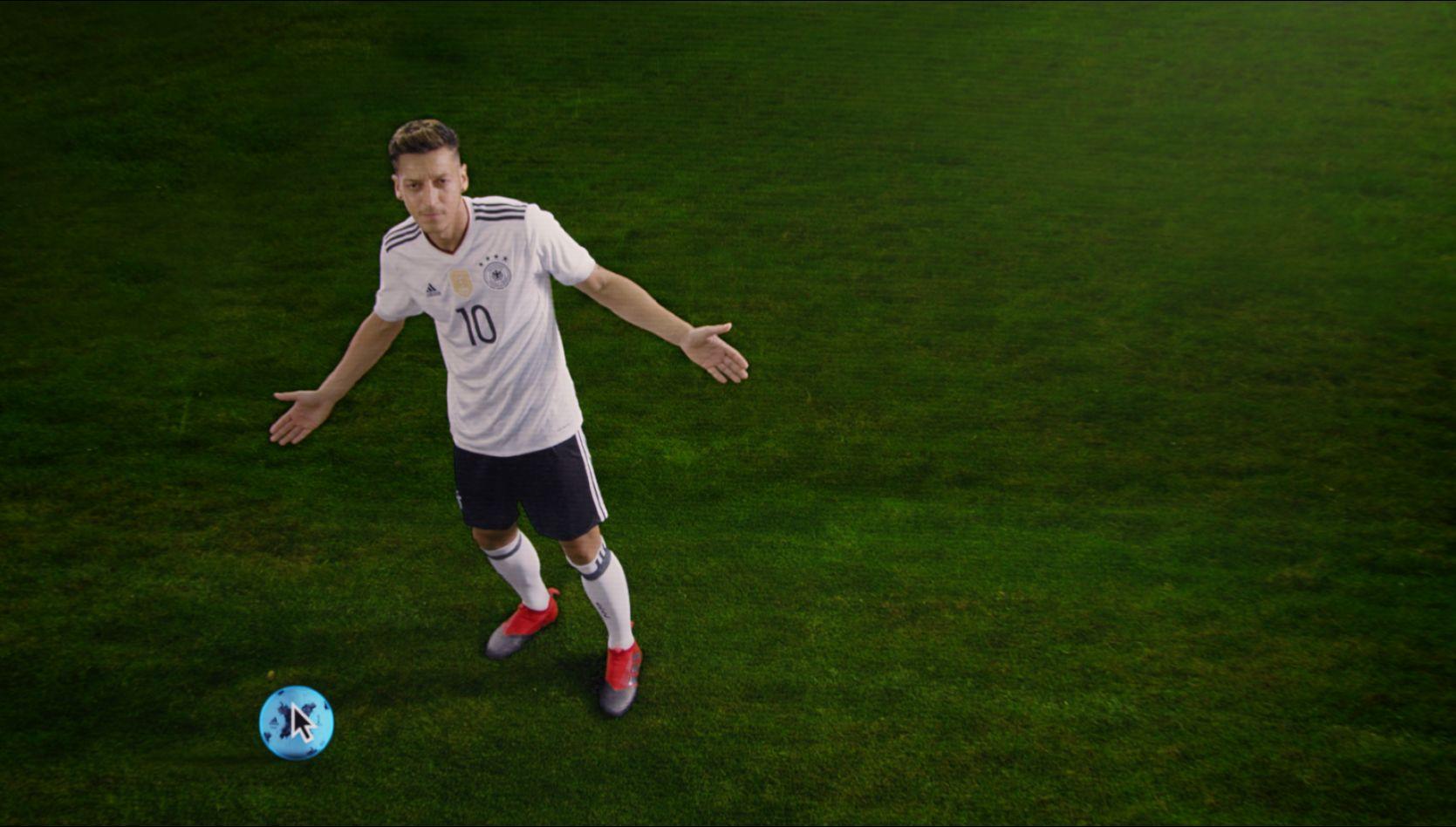 Özil en el nuevo video de Adidas