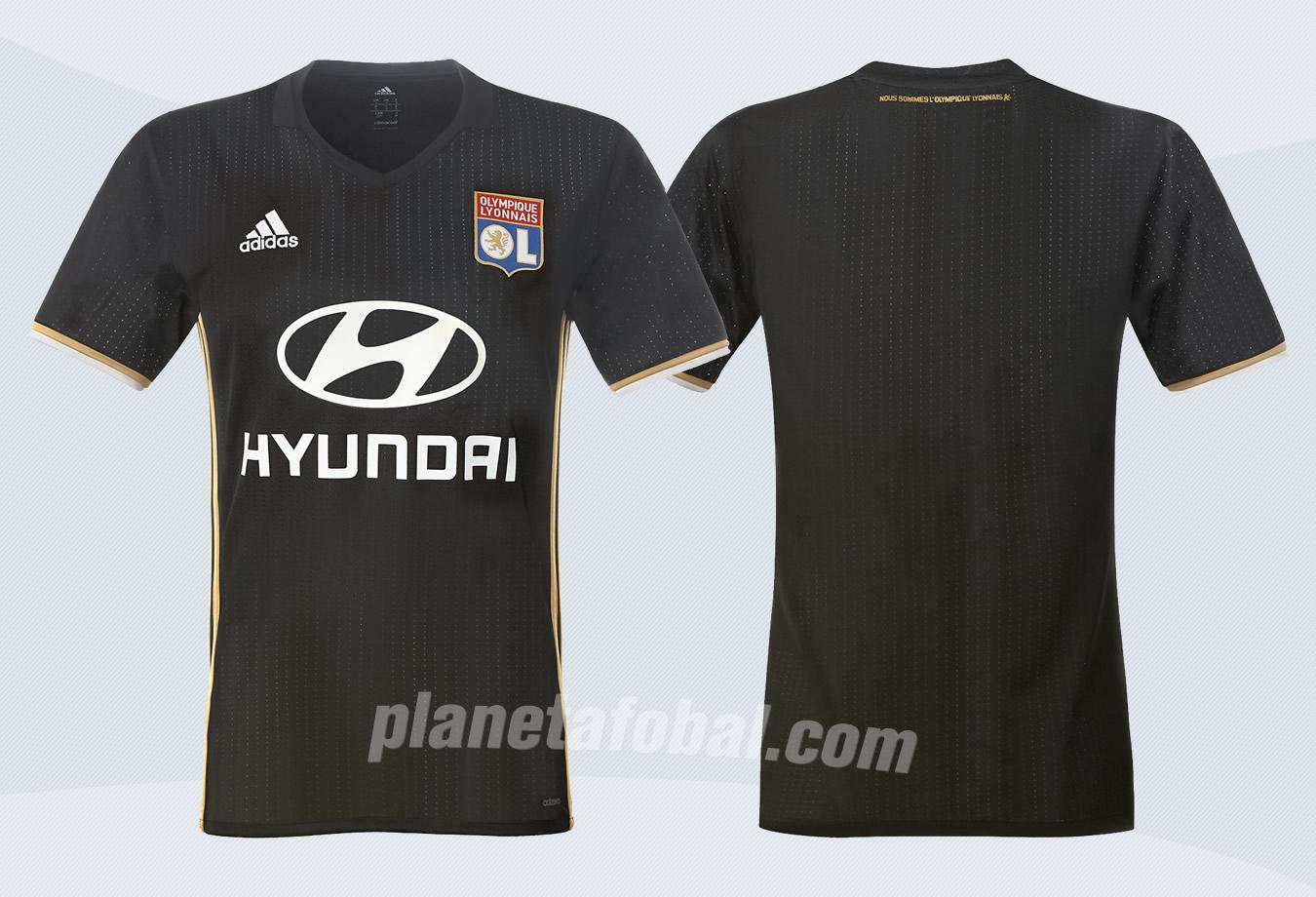 Tercera camiseta del Lyon | Foto Web Oficial
