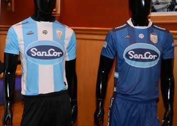 Nuevas camisetas de Atlético de Rafaela | Foto Facebook Oficial