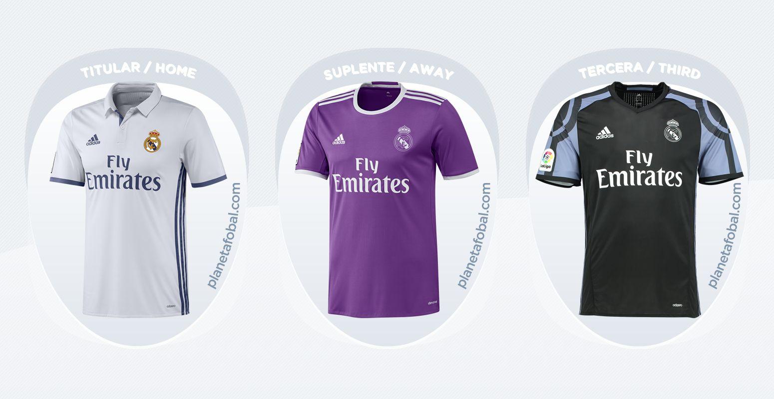 Camisetas del Real Madrid de España (Adidas)