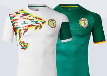 Camisetas de Senegal | Imágenes Romai