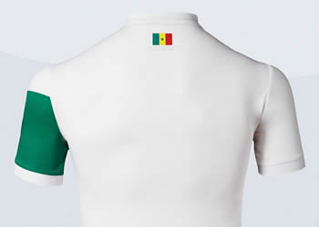 Camiseta titular de Senegal | Foto Romai