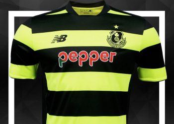Camiseta suplente del Shamrock Rovers | Foto New Balance