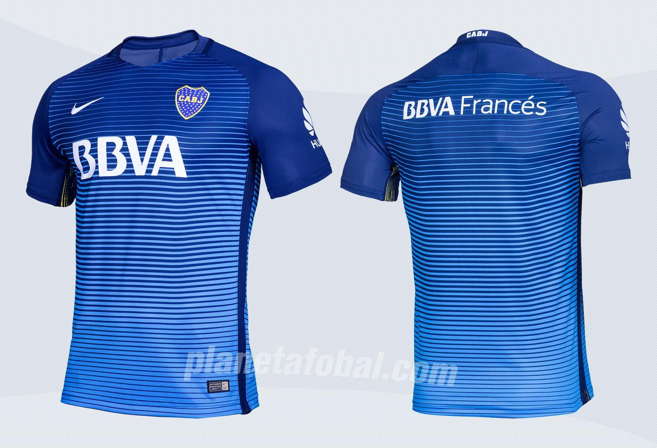 Nueva camiseta de Boca | Imágenes Web Oficial