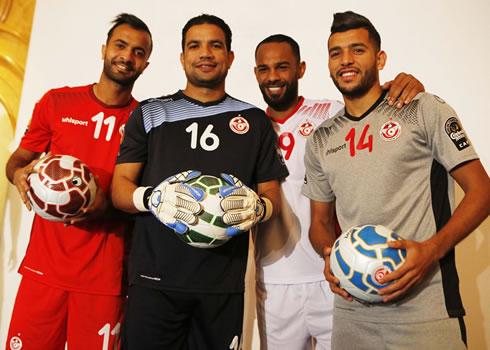 Nuevas camisetas de Túnez | Foto FTF