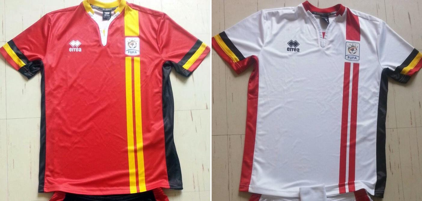 Nuevas camiseta de Uganda | Imágenes FUFA