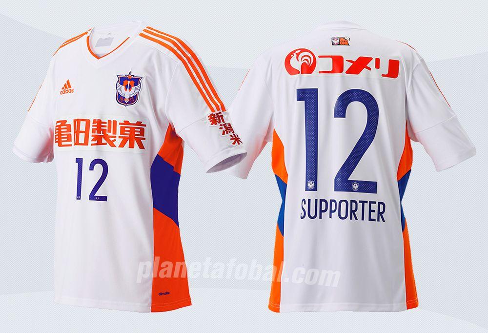 Camiseta suplente del Albirex Niigata | Imágenes Web Oficial