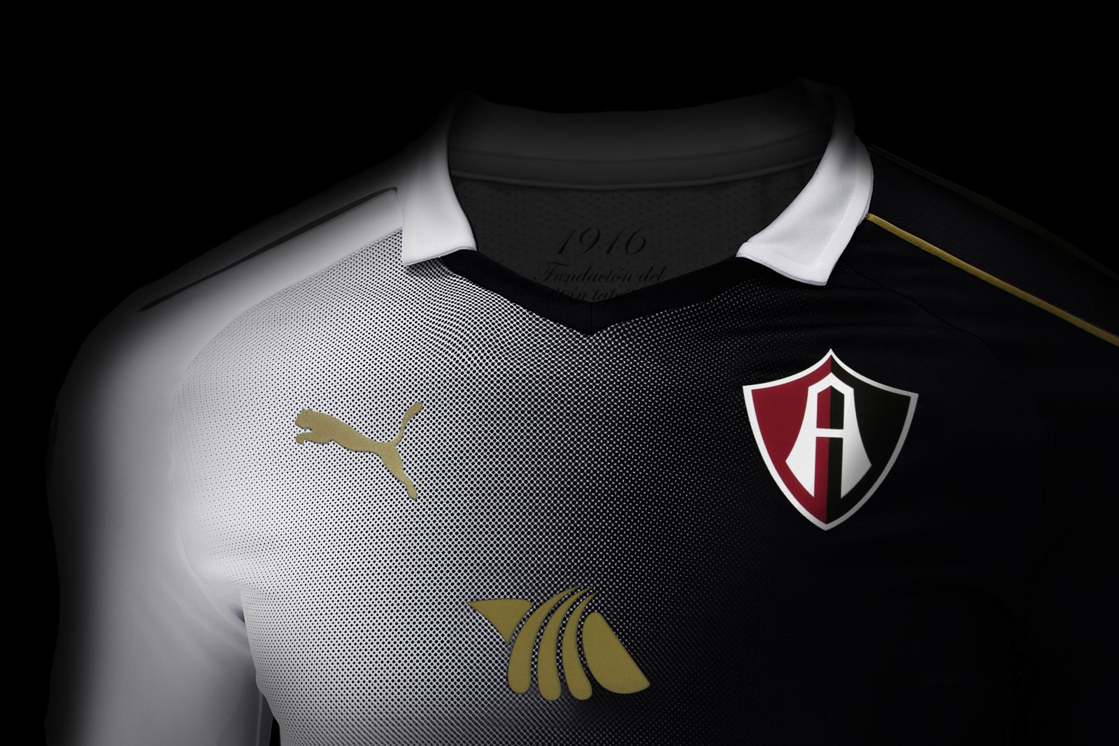 Nueva camiseta del Atlas | Foto Web Oficial