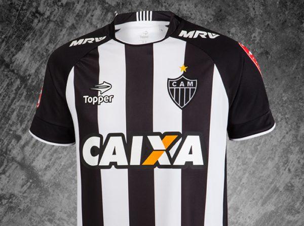 Camiseta titular del Mineiro   Foto Web Oficial