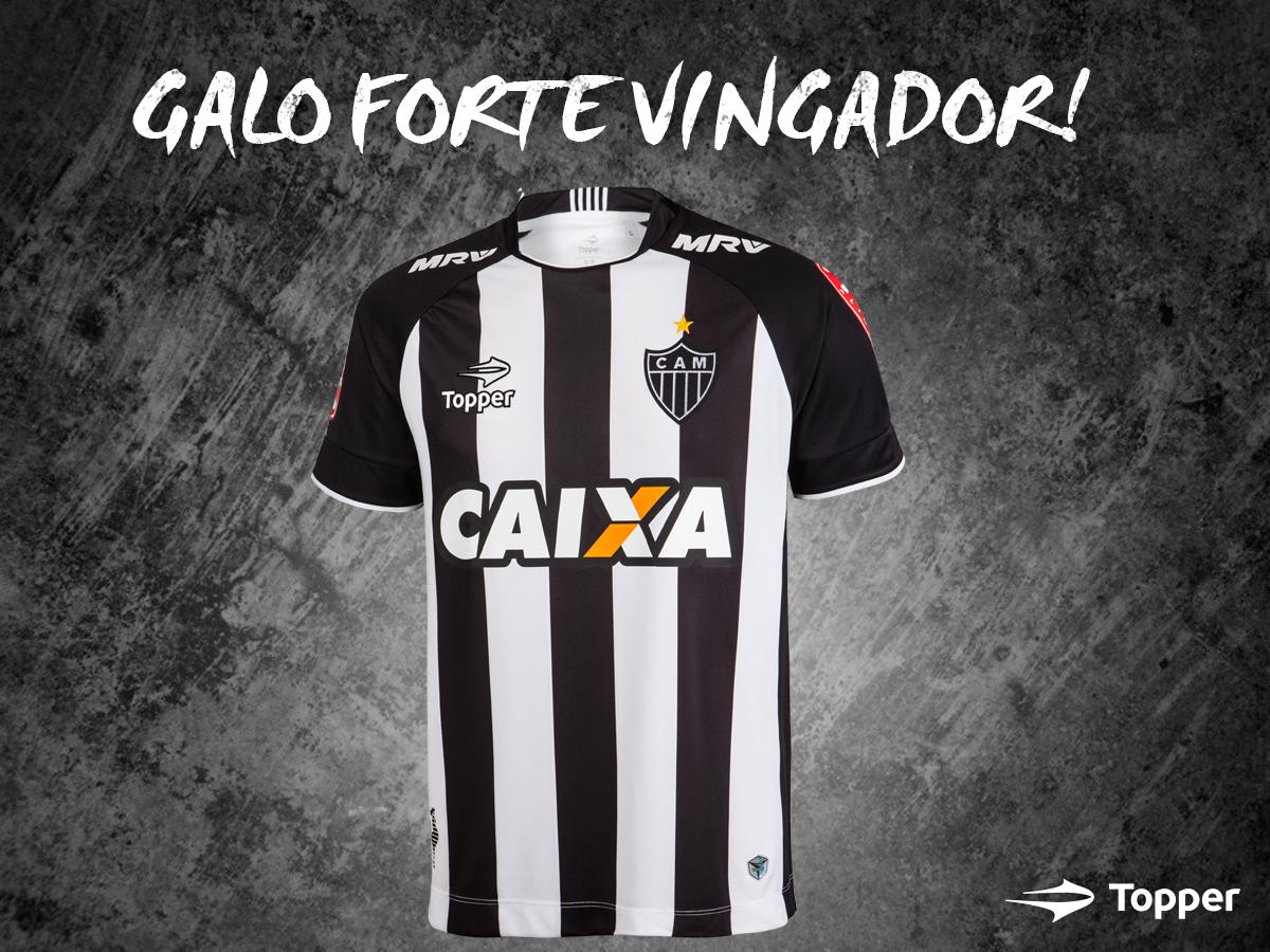 Camiseta titular del Mineiro | Foto Web Oficial