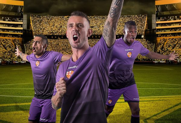 Nueva camiseta del Barcelona SC | Foto Marathon