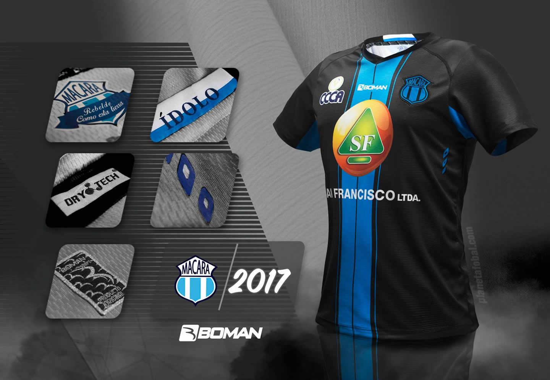 Camiseta suplente del Macará | Imagen Boman Sport