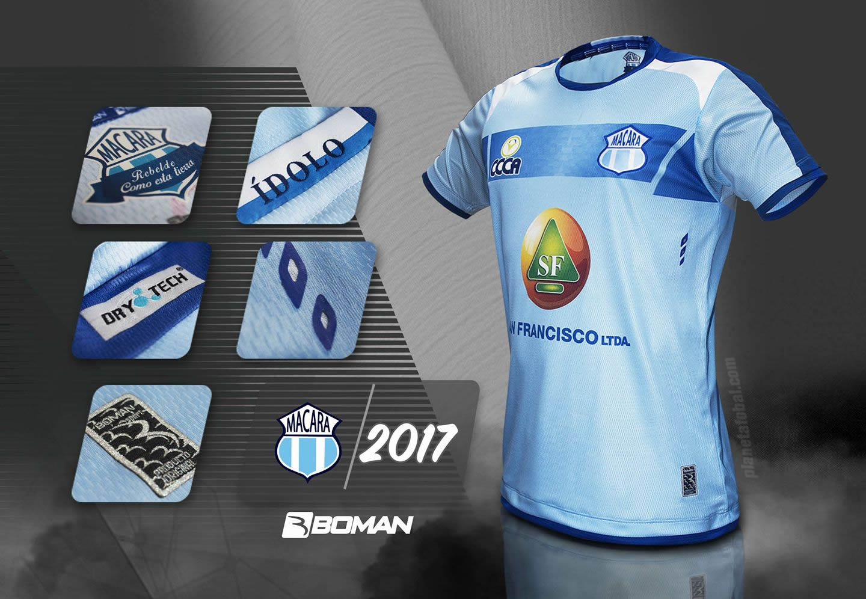 Camiseta titular del Macará | Imagen Boman Sport