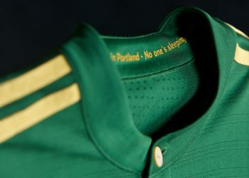 Camiseta titular Adidas del Portland Timbers para 2017 | Foto web oficial