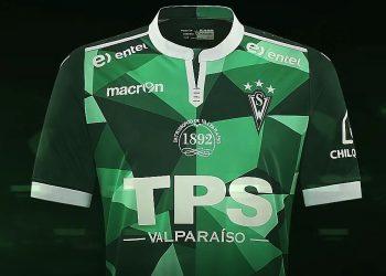Camiseta titular Macron de Santiago Wanderers para 2017 | Imagen Macron