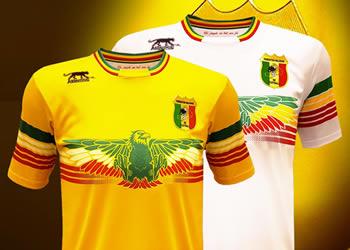 Nuevas camisetas de Mali para 2017 | Foto Airness
