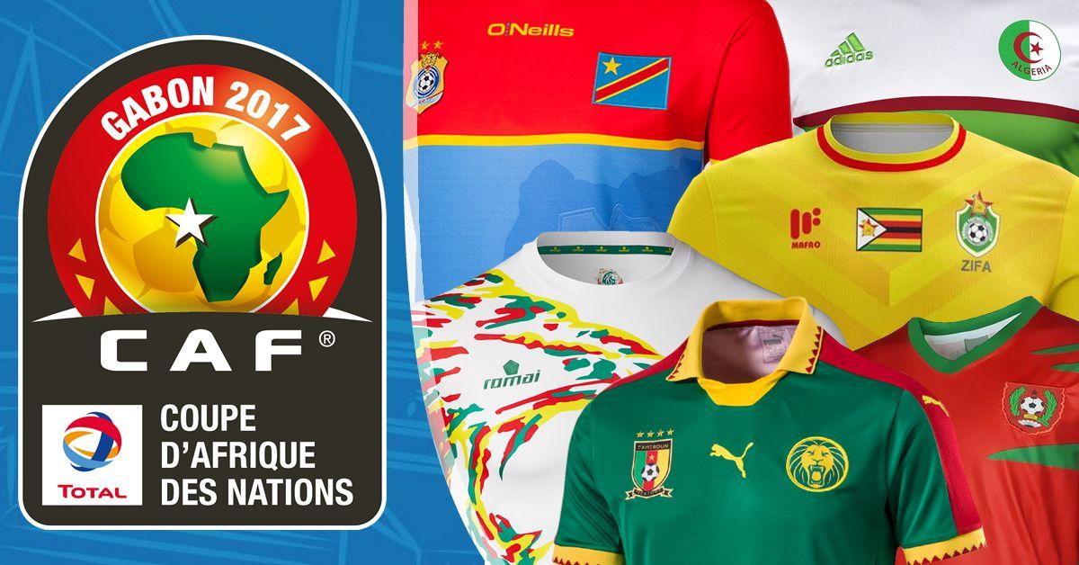 Las camisetas de la Copa Africana de Naciones 2017