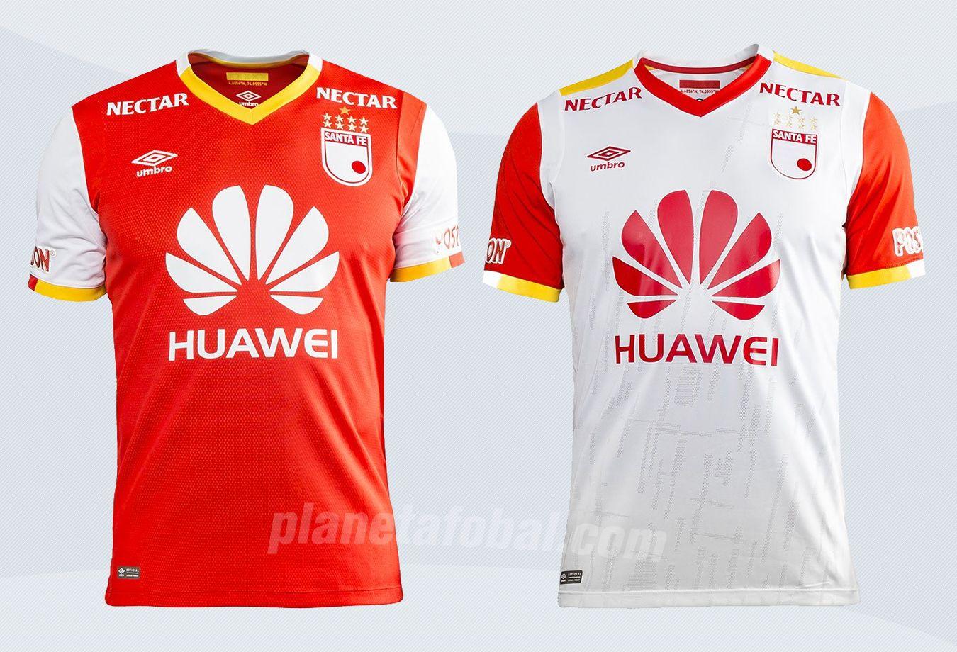 Camisetas Umbro de Independiente Santa Fe para 2017 | Imágenes web oficial