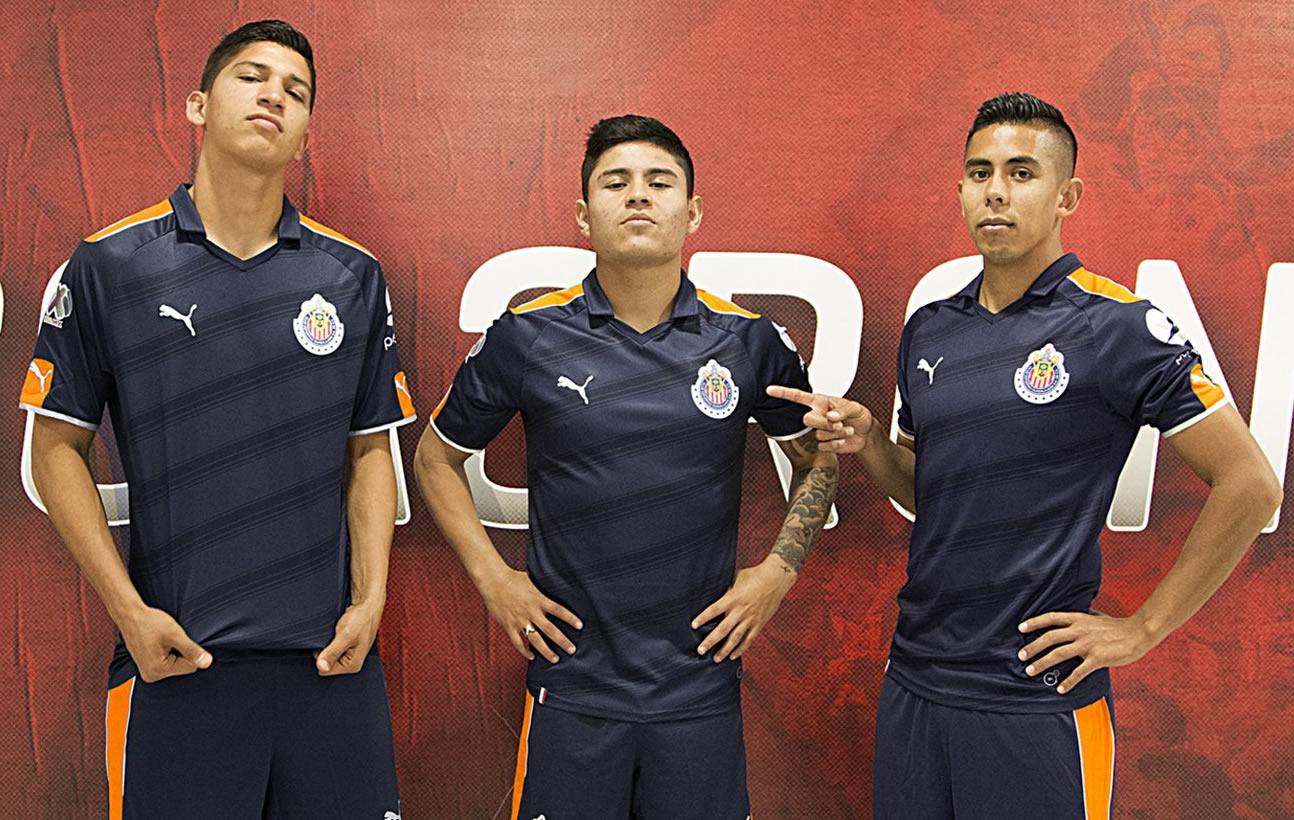 Tercera equipacion de las Chivas | Foto Puma