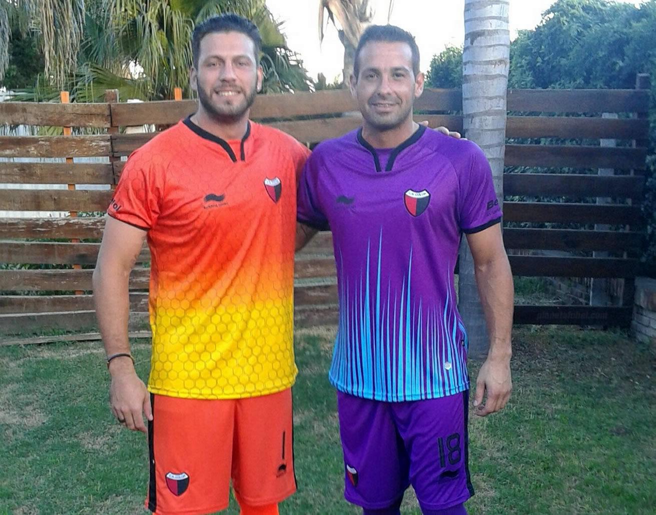 Camisetas de los porteros | Foto Twitter Oficial