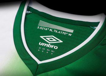 Camiseta titular del Deportivo Cali | Foto Umbro