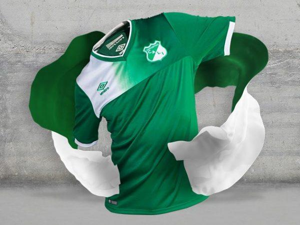 Camiseta titular del Deportivo Cali   Foto Umbro