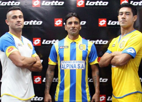 Nuevas camisetas de Capiatá | Foto Facebook Oficial