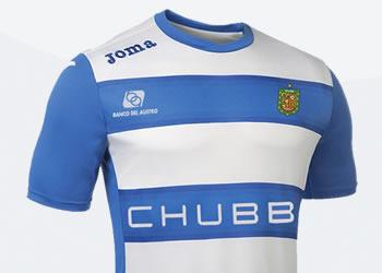 Nueva camiseta suplente de Deportivo Cuenca | Imagen Twitter Oficial