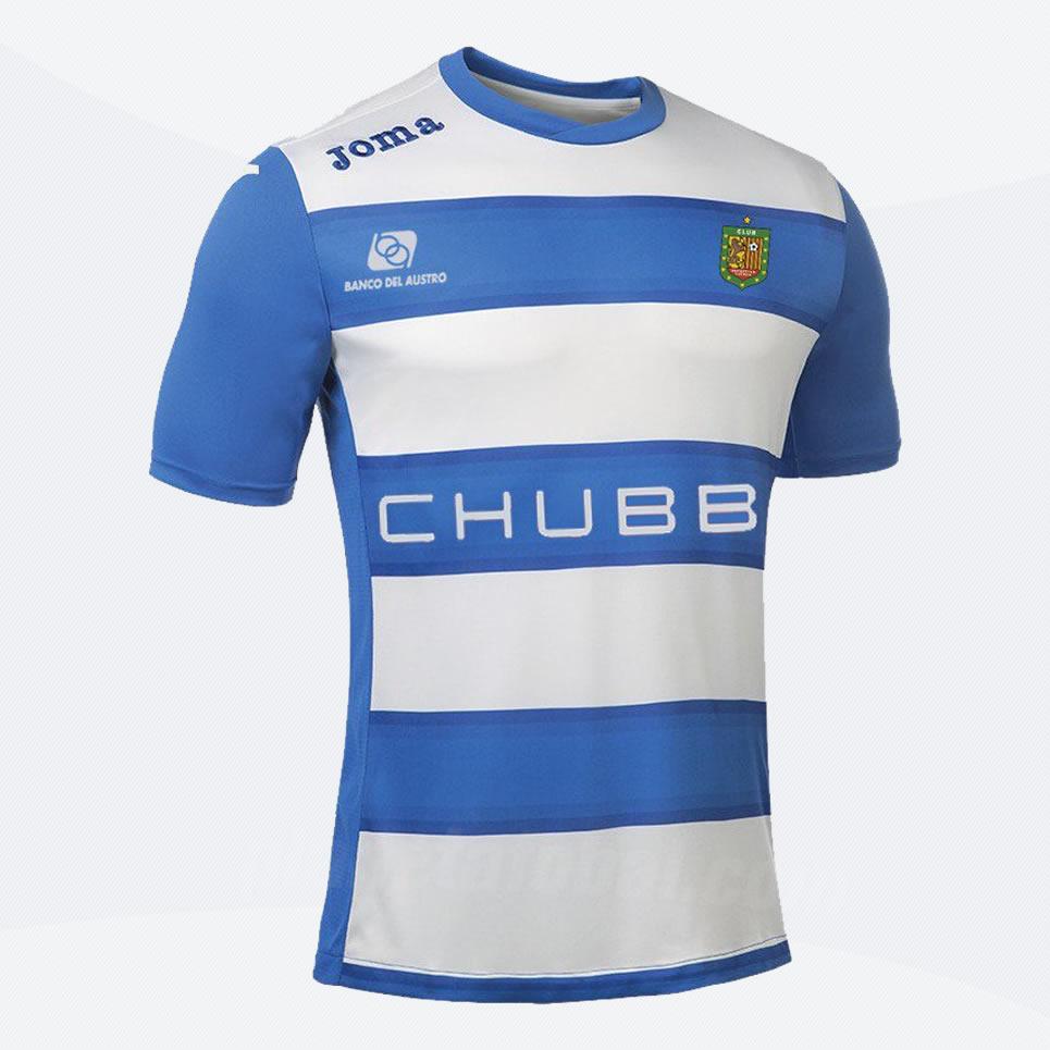 Camisetas Joma del Club Deportivo Cuenca 2017 f0e9469357287