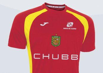 Nueva camiseta titular de Deportivo Cuenca | Imagen Twitter Oficial