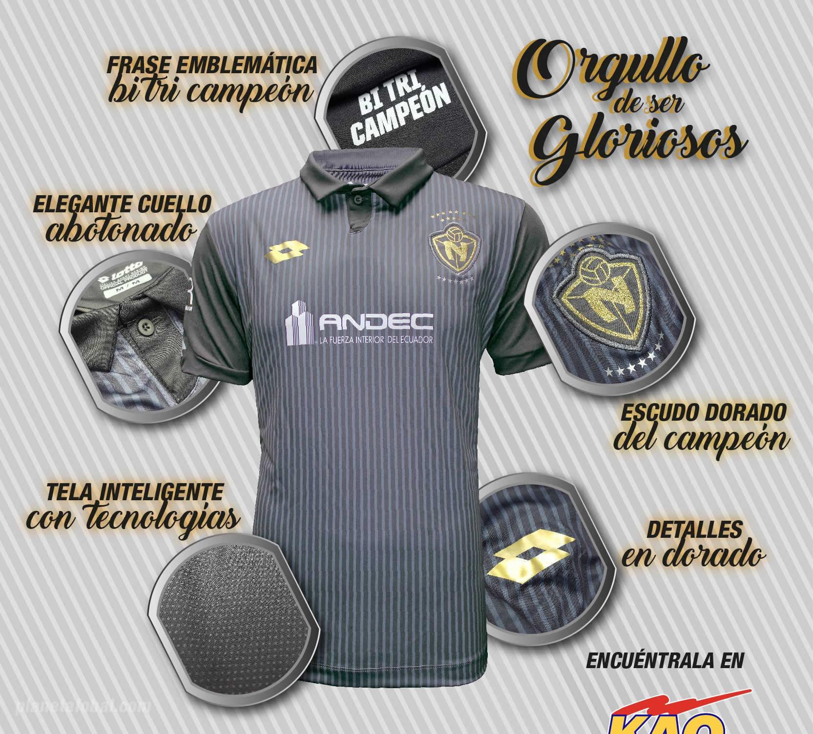 Camiseta suplente de El Nacional | Foto Instagram Oficial