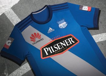 Nueva camiseta titular del Emelec | Foto Twitter Oficial