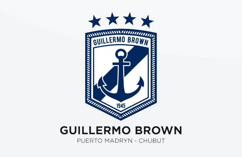 Nuevo escudo de Guillermo Brown   Imagen Twitter Oficial