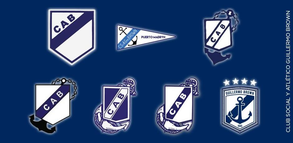 Así evolucionó el escudo   Imagen Twitter Oficial
