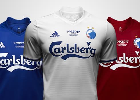 Camisetas especiales del FC Copenaghe | Foto Web Oficial