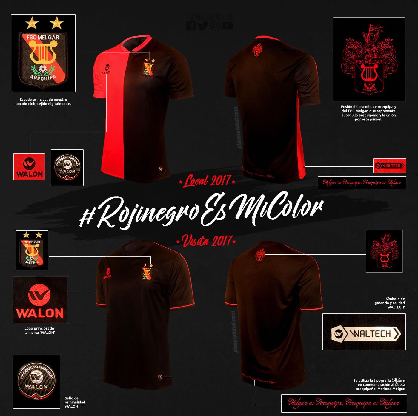 Nuevas camisetas del FCB Melgar | Imagen Facebook Oficial