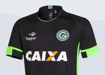 Camiseta de arquero del Goias EC de Brasil para 2017 | Foto Topper