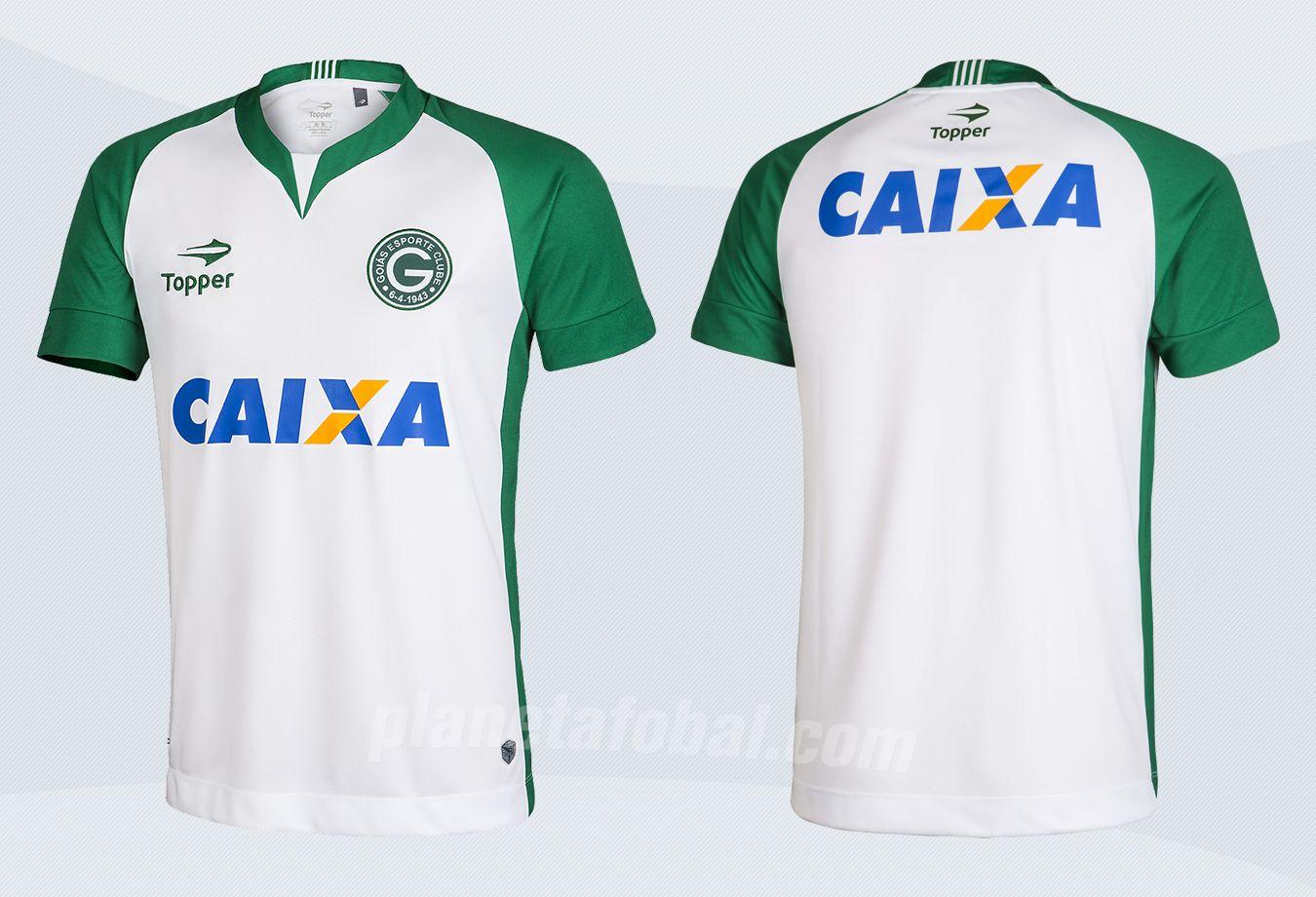 Nueva camiseta suplente del Goias de Brasil para 2017 | Imágenes Topper
