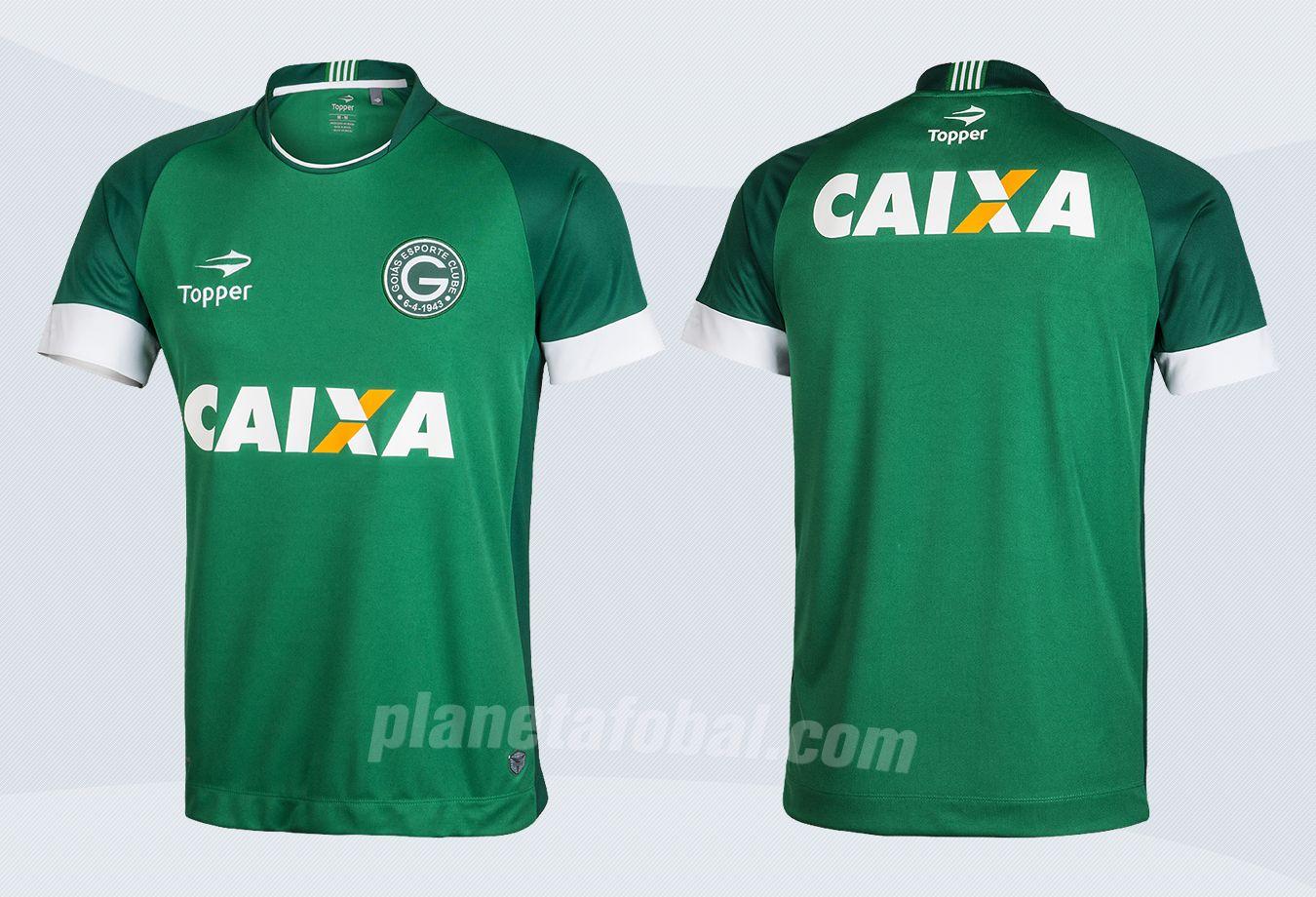 Nueva camiseta titular del Goias de Brasil para 2017 | Imágenes Topper