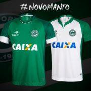 Nuevas camisetas del Goias de Brasil para 2017 | Foto Topper