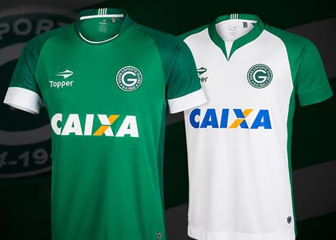 Nuevas camisetas del Goias de Brasil para 2017   Foto Topper