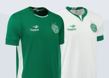 Nuevas camisetas del Guaraní FC | Imágenes Gentileza Topper